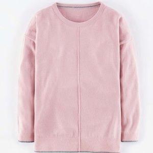 Boden Alexa Blush Pink Cashmere Sweater XS